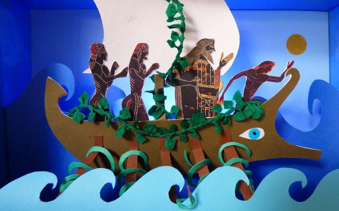 Ο θεός Διόνυσος και οι πειρατές